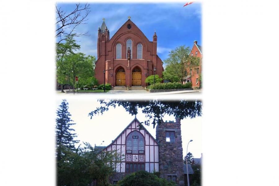 St. Mary + St. Lawrence Exteriors