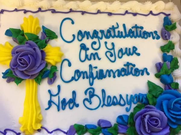 Confirmation Cake 2017